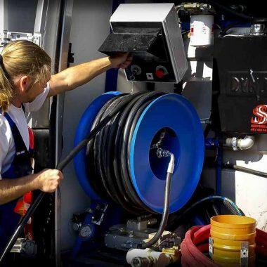 Echipament de curatat /desfundat conducte si canalizari PPL | Dynaset