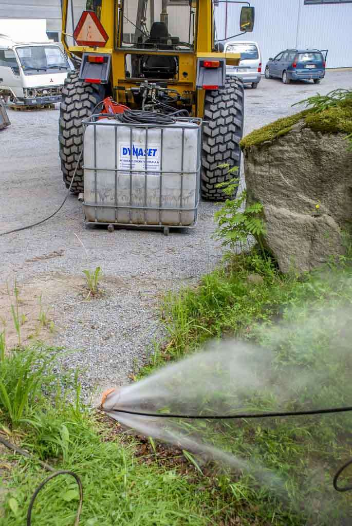 8313 kit de spalare pentru pubele si containere de gunoi jpl dynaset Echipament de curatat /desfundat conducte si canalizari   PPL 200   Dynaset - Unilift