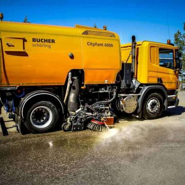 Unitate de spalare stradala fara rezervor de apa KPL | Dynaset