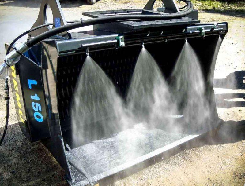 8353 kit de pulverizare cu presiune ridicata anti praf hpw dust dynaset Kit de pulverizare anti-praf actionat hidraulic   HPW-DUST 200   Dynaset - Unilift echipament anti-praf actionat hidraulic