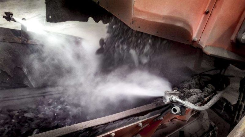 8354 kit de pulverizare cu presiune ridicata anti praf hpw dust dynaset Kit de pulverizare anti-praf actionat hidraulic   HPW-DUST 200   Dynaset - Unilift echipament anti-praf actionat hidraulic