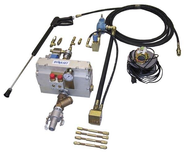 8356 kit de pulverizare cu presiune ridicata anti praf hpw dust dynaset Kit de pulverizare anti-praf actionat hidraulic   HPW-DUST 200   Dynaset - Unilift echipament anti-praf actionat hidraulic