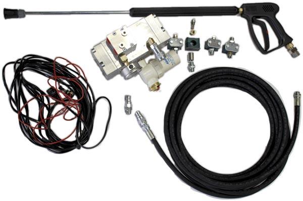 8357 kit de pulverizare cu presiune ridicata anti praf hpw dust dynaset Kit de pulverizare anti-praf actionat hidraulic   HPW-DUST 200   Dynaset - Unilift echipament anti-praf actionat hidraulic