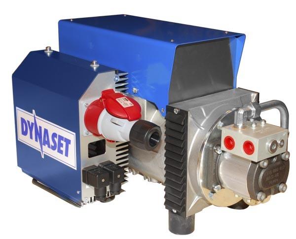 8379 generator hidraulic pentru magnet hmg dynaset Generator electric actionat hidraulic pentru magnet   HMG PRO 3   Dynaset - Unilift