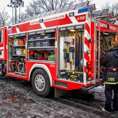Pompa actionata hidraulic pentru echipamentele de stingere a incendiilor HPW-FIRE | Dynaset