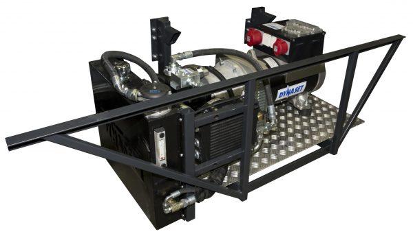Generator actionat hidraulic variabil