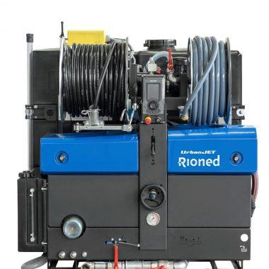 Echipament portabil desfundat tevi/canalizari (max. 350mm) pentru dube 3.5t   Rioned Urbanjet
