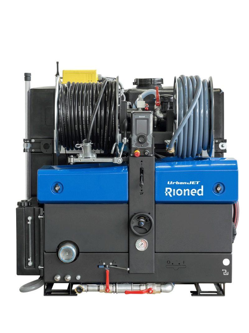 8512 echipament desfundat tevi canalizari dube 3 5t rioned urbanjet Echipament portabil desfundat tevi/canalizari (max. 350mm) Urbanjet   Rioned - Unilift