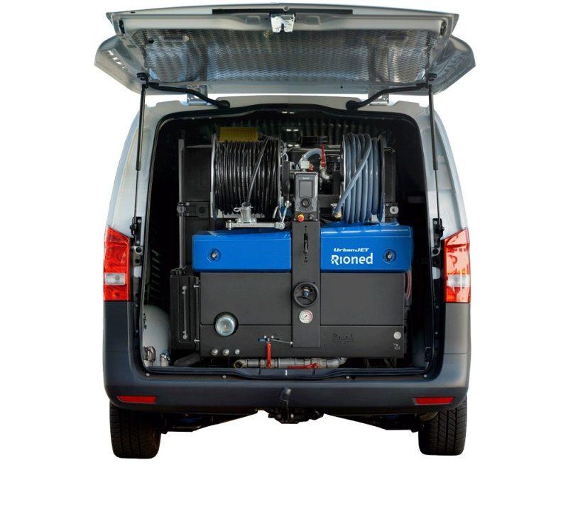 8513 echipament desfundat tevi canalizari dube 3 5t rioned urbanjet Echipament portabil desfundat tevi/canalizari (max. 350mm) Urbanjet   Rioned - Unilift