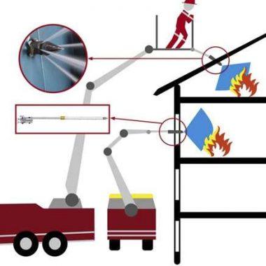 Lance de penetrare actionata hidraulic pentru stingerea incendiilor FP | Dynaset