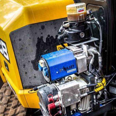 Compresor de aer cu sistem de rotatie actionat hidraulic HKL | Dynaset