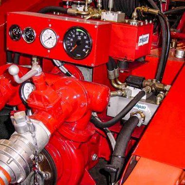 Unitate de amplificare putere hidraulica pentru mecanisme de stingere a incendiilor HRU | Dynaset