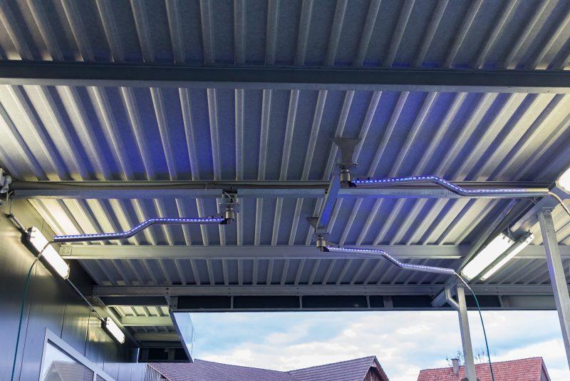 8675 instalatie self service cu led uri mosmatic Brat mobil cu led-uri pentru instalatii de spalare | DKZbl | Mosmatic - Unilift