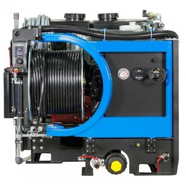 Echipament portabil desfundat/curatat canalizari cu motor termic (280bari)   Rioned ProfiJet T4
