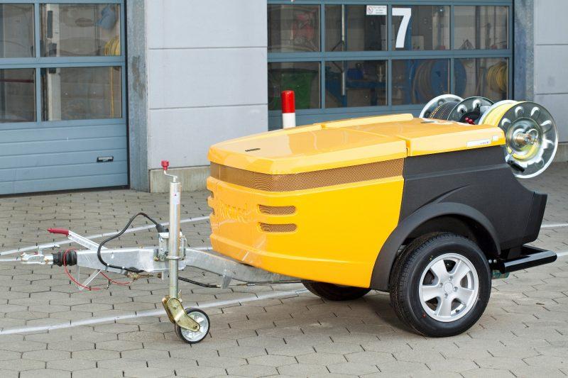 8739 echipament pentru desfundare curatare canalizari rioned Echipament tractabil desfundare canalizari FlexJet   Rioned - Unilift Echipament tractabil desfundare canalizari