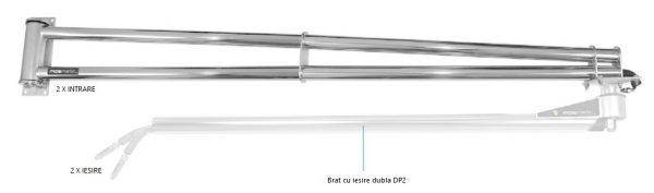 8762 extensie pentru brat de spalare cu iesire dubla wsa mosmatic 1 Extensie brat DP2 pentru instalatii de spalare   WSA-2R   Mosmatic - Unilift