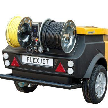 Echipament tractabil desfundare canalizari/tevi (max. 350mm)   Rioned FlexJet Plus