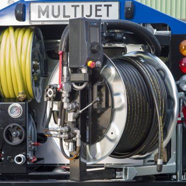 Echipament tractabil desfundare canalizari/tevi (max. 600mm)   Rioned MultiJet