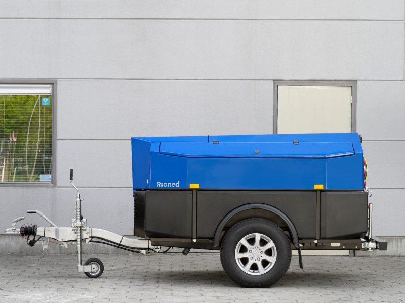 8784 echipament tractabil desfundare canalizaritevi max 600mm rioned multijet Echipament tractabil desfundare canalizari/tevi MultiJet   Rioned - Unilift