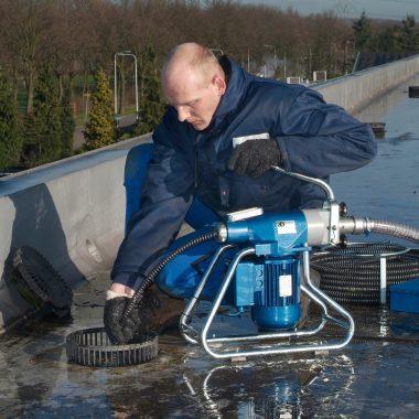 Unitate cu sarpe pentru desfundat si curatat tevi/canalizari (150 mm)   Victor   Rioned