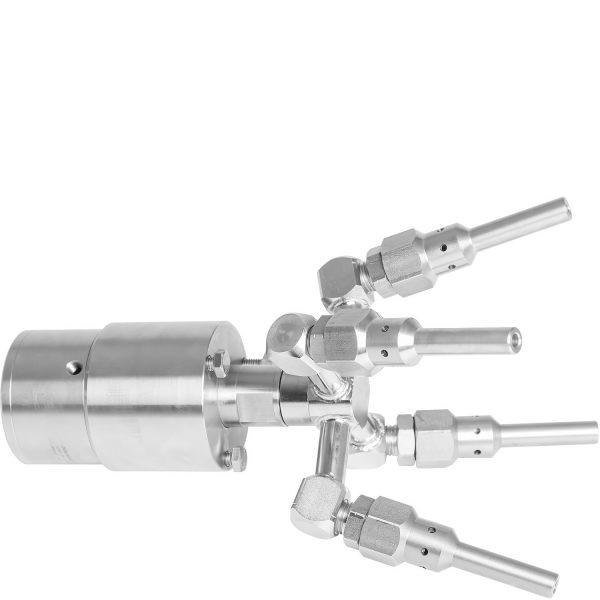 9218 dispozitiv rotativ pentru conducte si canalizari tfx 4f mosmatic Cap de spalare rotativ SPIDER | Mosmatic - Unilift