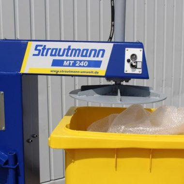 Presa compactoare pentru deseuri Dustbin press MT 240   Strautmann