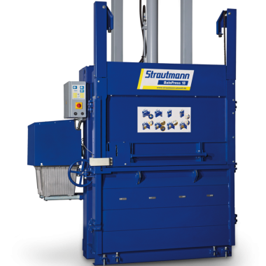Presa compactoare industriala pentru carton si hartie BalePress   Strautmann