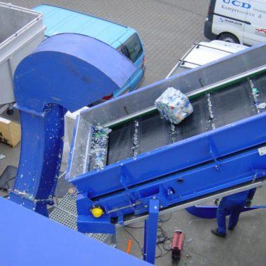 Presa compactoare pentru fabricarea brichetelor din pet-uri BrikPress   Strautmann