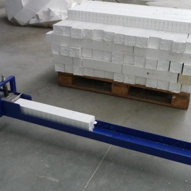 Presa compactoare pentru fabricarea brichetelor din polistiren StyroPress   Strautmann