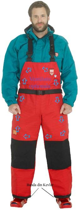 Pantaloni de protectie cu optiune pentru ventilatie (Industria constructiilor si demolarilor ) | TST Sweeden