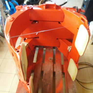 Clamp pentru role hartie(max 2500 kg)-reconditionat(Bolzoni Auromo)