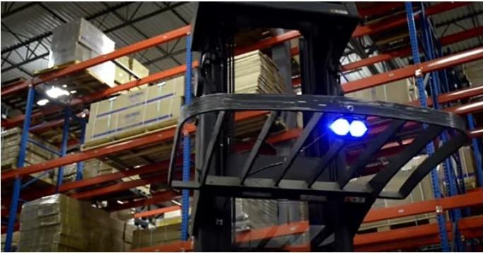 9662 lumina siguranta pentru stivuitor alta marca Lumina siguranta pentru stivuitor - Unilift