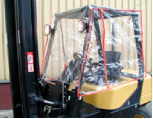 9719 cabina stivuitor din pvc alta marca Cabina stivuitor din PVC - Unilift