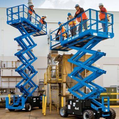 Nacela elevatoare pentru teren denivelat – GS-2669 RT | GENIE