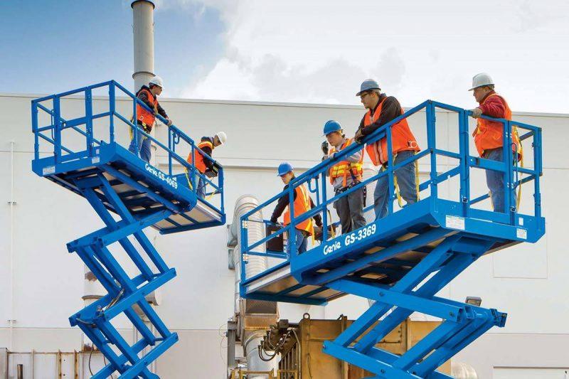 9749 nacela elevatoare gs 2669 rt genie Nacela elevatoare pentru teren denivelat - GS-2669 RT | GENIE - Unilift