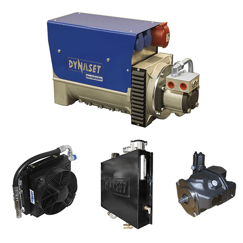 Generator actionat hidraulic