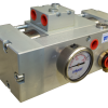 Pompa actionata hidraulic pentru drenare