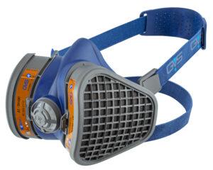 Semimasca protectie impotriva prafului, gazelor si vaporilor   Elipse A1   GVS