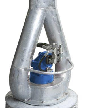 Pompe actionate hidraulic