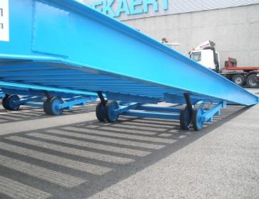 Rampa mobila de incarcare/descarcare de mare tonaj, 10 T