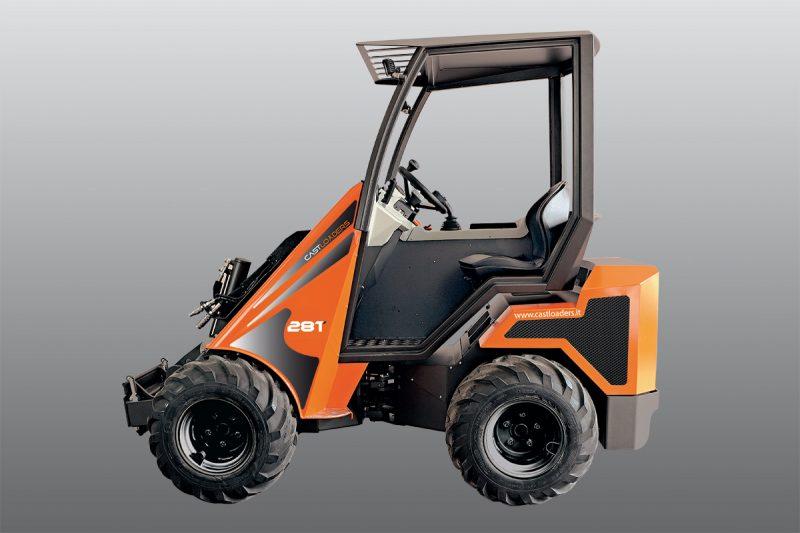 mini incarcator cast 28t 1 Miniincarcator multifunctional  Cast 28T - 25HP - max. 950 kg - Unilift Cast 28T – 25HP
