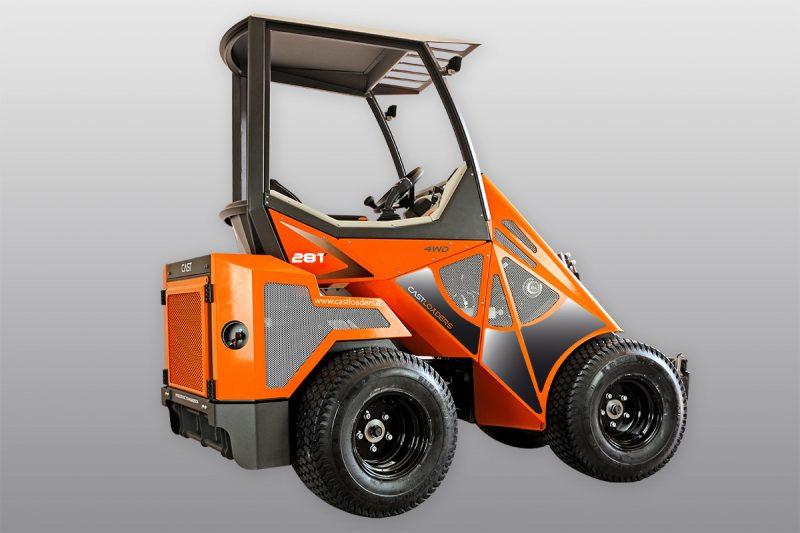 mini incarcator cast 28t 2 Miniincarcator multifunctional  Cast 28T - 25HP - max. 950 kg - Unilift Cast 28T – 25HP