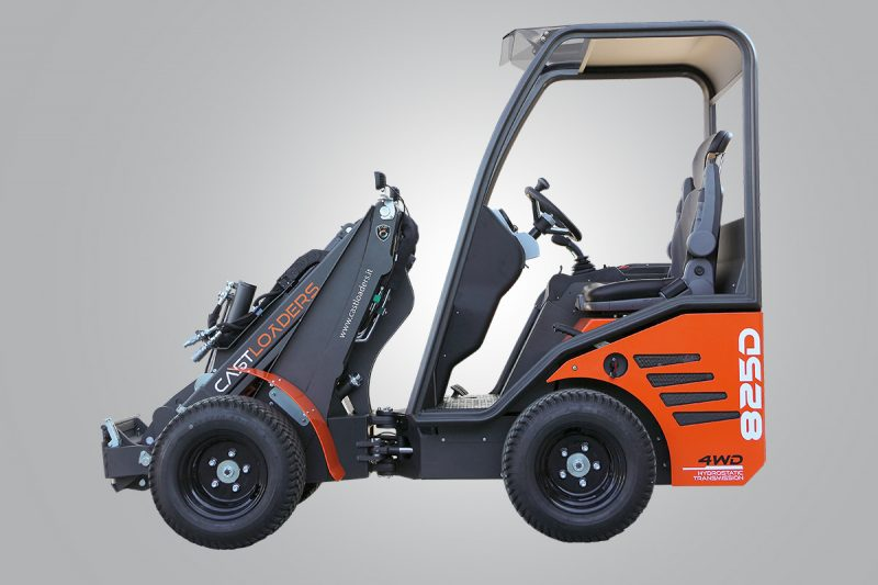 mini incarcator cast 825d 1 Miniincarcator multifunctional  Cast 825D - 25CP - max. 850 kg - Unilift Cast 825D – 25CP