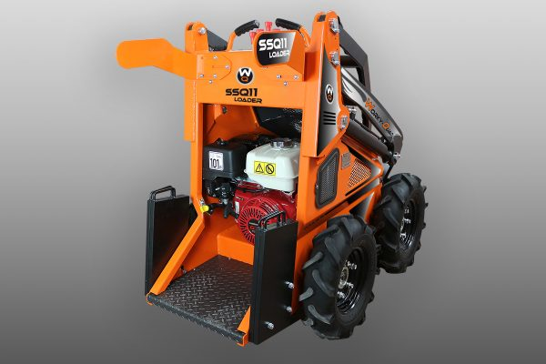 workyquad ssq 11 country 3 Miniincarcator WorkyQuad SSQ 11 Country - 11.7CP - 350 kg max. - Unilift WorkyQuad SSQ