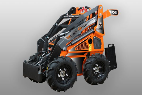 workyquad ssq 11 plus 1 Miniincarcator WorkyQuad SSQ 11 Plus - 11.7CP - 350 kg max. - Unilift Miniincarcator