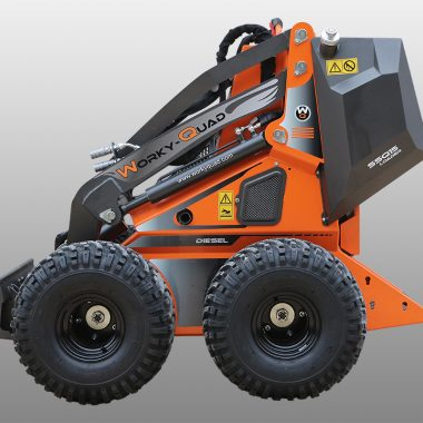 WorkyQuad SSQ 15D – 14.6CP (diesel) – 350 kg max.