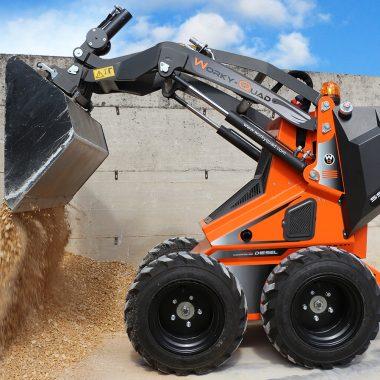 WorkyQuad SSQ 15D RC – 14.6CP (diesel) – 350 kg max.