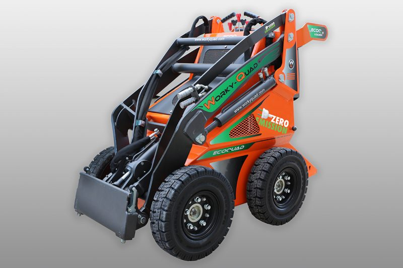 workyquad ssq ecoquad full electric2 Miniincarcator WorkyQuad SSQ EcoQuad - Full Electric - 2.2CP - 400 kg max. - Unilift WorkyQuad SSQ
