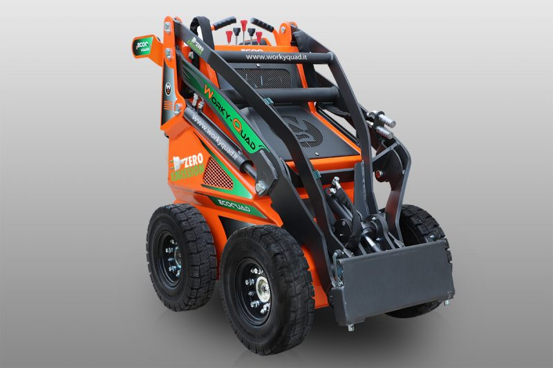 workyquad ssq ecoquad full electric3 Miniincarcator WorkyQuad SSQ EcoQuad - Full Electric - 2.2CP - 400 kg max. - Unilift WorkyQuad SSQ