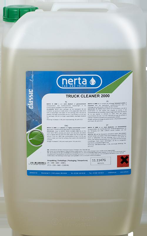 2.tc 2000 Spuma activa 25L | TRUCK CLEANER 2000 | Nerta - Unilift Spuma activa